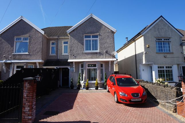 Thumbnail Semi-detached house for sale in Gwerthonor Road, Gilfach, Bargoed