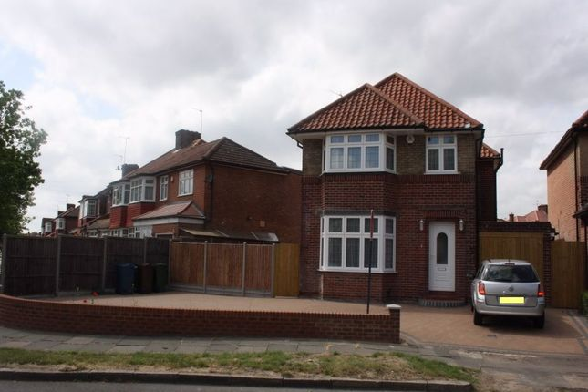 Thumbnail Detached house to rent in Crowshott Avenue, Stanmore, Middlesex, UK