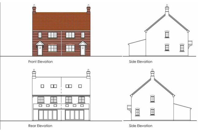 Thumbnail Semi-detached house for sale in Jacklin Lane, Fulstow, Louth