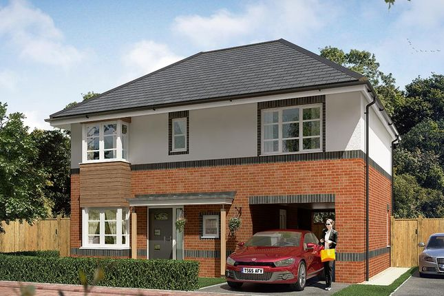 "Thumbnail Detached house for sale in ""The Hanbury"" at Cobblers Lane, Pontefract"