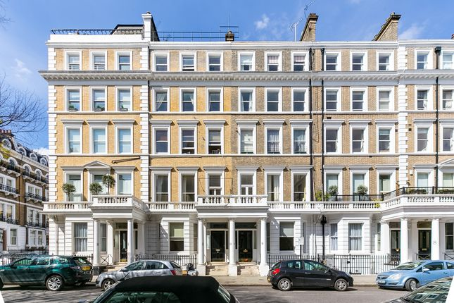 External of Southwell Gardens, South Kensington, London SW7