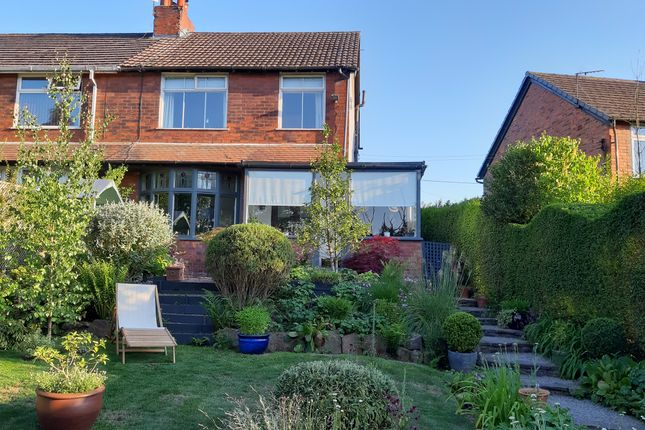 3 bed semi-detached house for sale in Buxton Road, Newtown, Disley, Stockport SK12