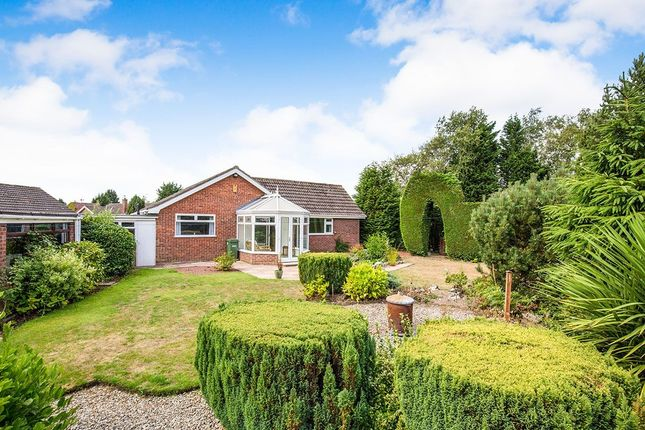 Thumbnail Bungalow for sale in Folks Close, Haxby, York