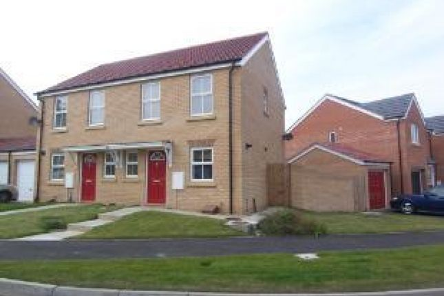 Thumbnail Semi-detached house for sale in Meadowfield, Burnhope, Durham