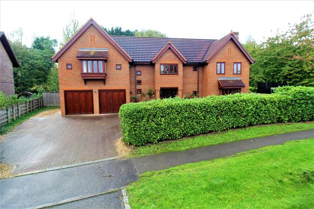 Thumbnail Detached house for sale in Pattison Lane, Woolstone, Milton Keynes