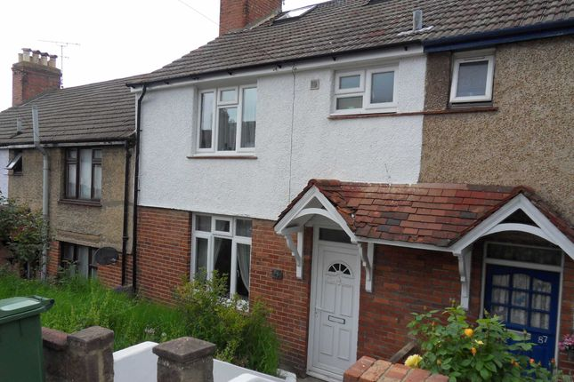 Thumbnail Terraced house to rent in Coombe Road, Brighton