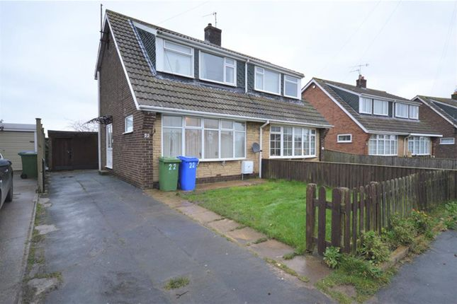 3 bed semi-detached house for sale in Havercroft Road, Hunmanby, Filey YO14