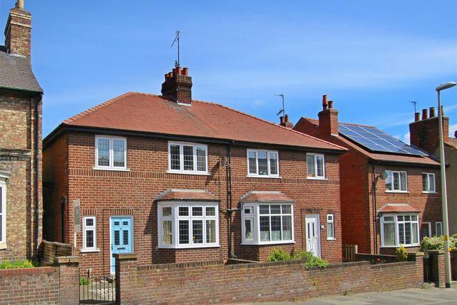Thumbnail Semi-detached house for sale in 50 Newbiggin, Malton