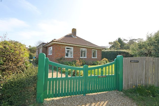 Thumbnail Detached bungalow for sale in Cliff Road, Totland Bay