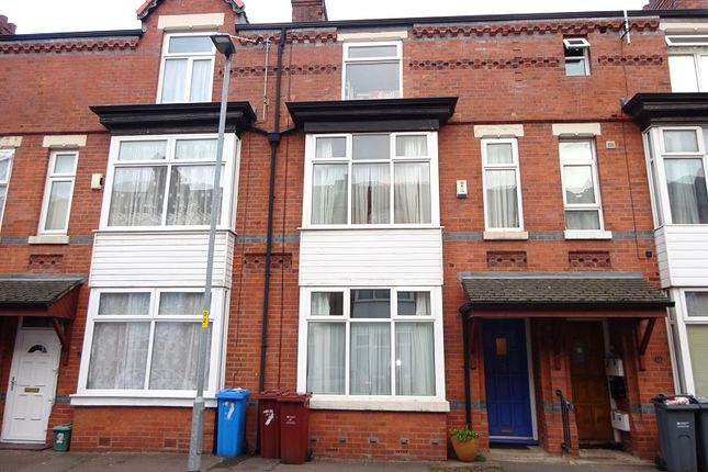 Thumbnail Terraced house for sale in Bedford Ave, Whalley Range, Manchester.