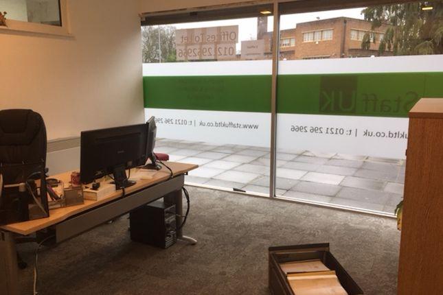 Office to let in School Road, Hall Green Birmingham