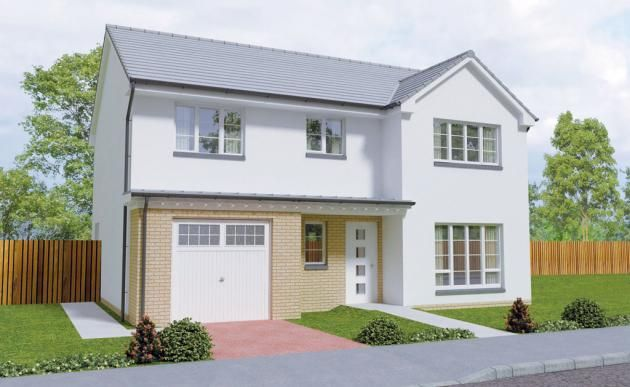 Thumbnail Detached house for sale in The Dochart, Middleton Road, Perceton, Irvine, North Ayrshire