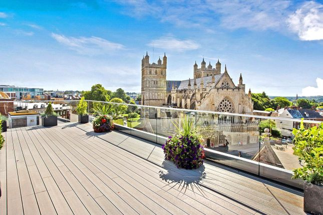 Thumbnail Flat to rent in 24 Cathedral Yard, Exeter, Devon