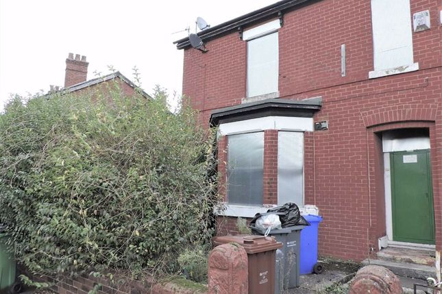 Thumbnail End terrace house for sale in Carmoor Road, Manchester