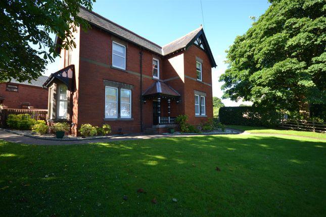 Thumbnail Detached house for sale in Blackburn Road, Higher Wheelton, Chorley