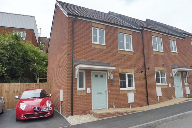 Thumbnail End terrace house to rent in Delph Road, Brierley Hill