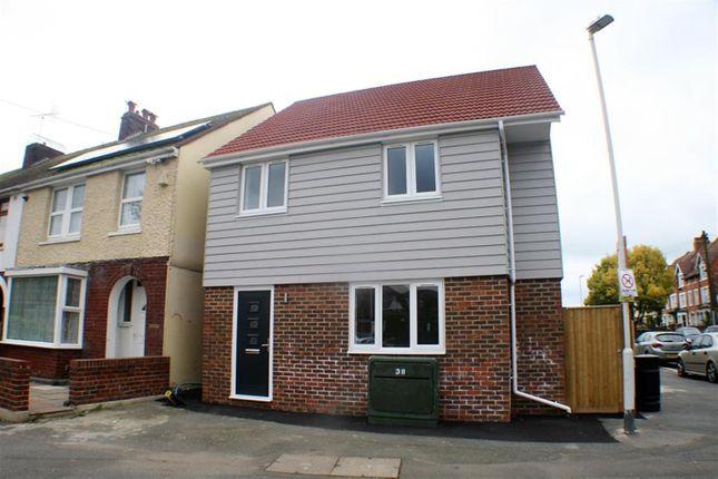 Thumbnail Detached house for sale in Warren Road, Folkestone