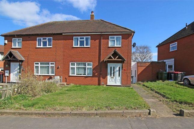 Thumbnail Semi-detached house for sale in Birchwood Avenue, Dordon, Tamworth, Warwickshire