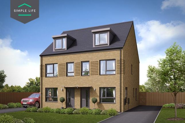 Thumbnail Semi-detached house to rent in Plot 111, Queen Mary Road, Sheffield