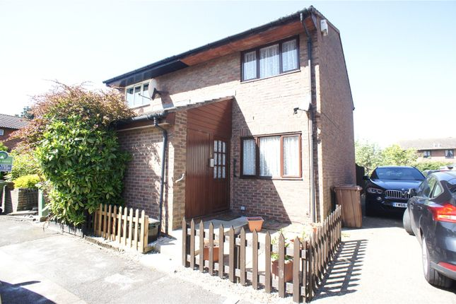 Thumbnail End terrace house for sale in Ormesby Close, Thamesmead, London