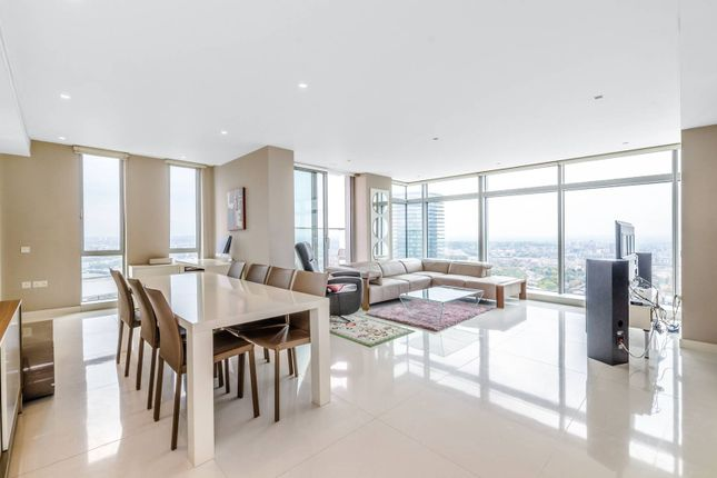 3 bed flat for sale in Pan Peninsula Square, Canary Wharf, London E14