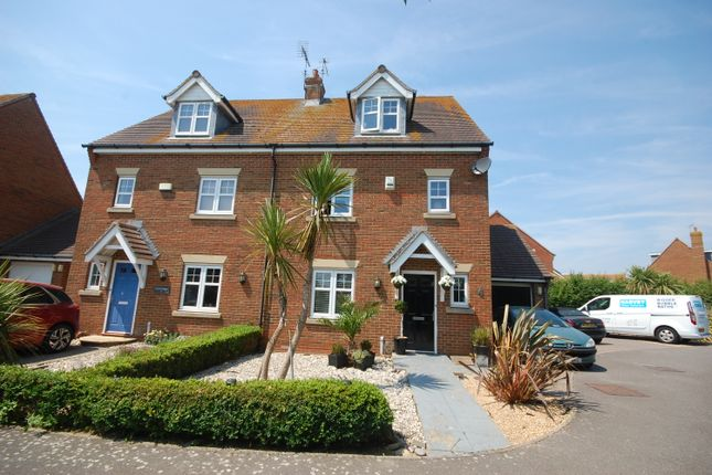 Thumbnail Semi-detached house for sale in Hunnisett Close, Selsey, Chichester