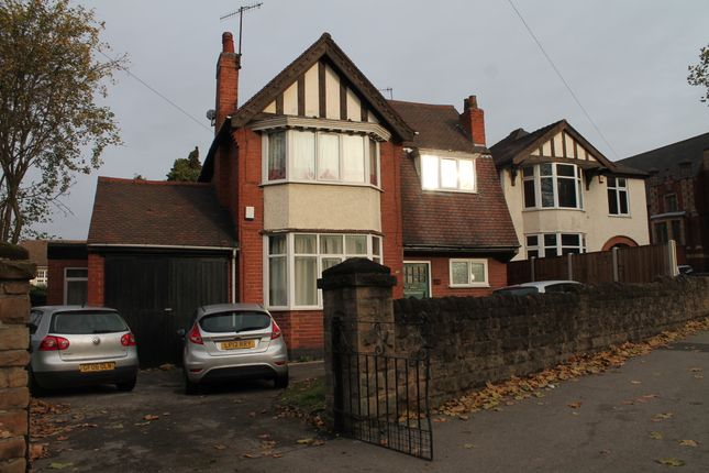 Thumbnail Detached house to rent in Derby Road, Lenton, Nottingham