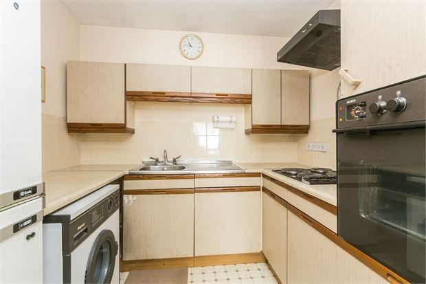 Kitchen of Walker Close, Ealing, London. W7