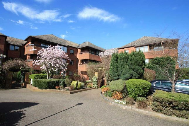 Thumbnail Flat for sale in Bentley Lodge, 182 High Road, Bushey Heath