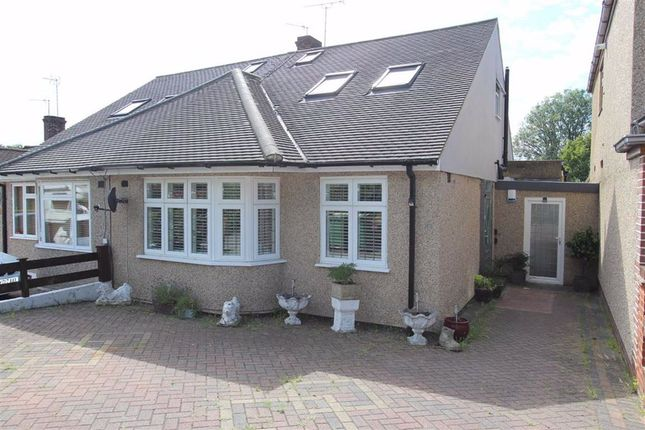 Thumbnail Semi-detached bungalow for sale in Holly Drive, North Chingford, London