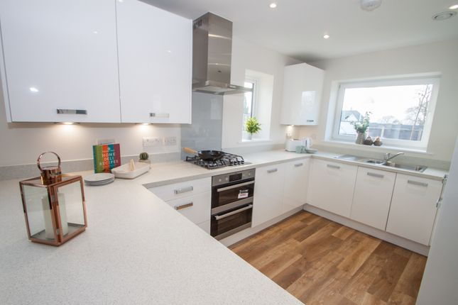 Thumbnail End terrace house for sale in Woolwell Crescent, Plymouth