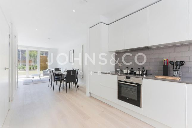 Thumbnail Terraced house to rent in Rope Terrace, Royal Wharf, London
