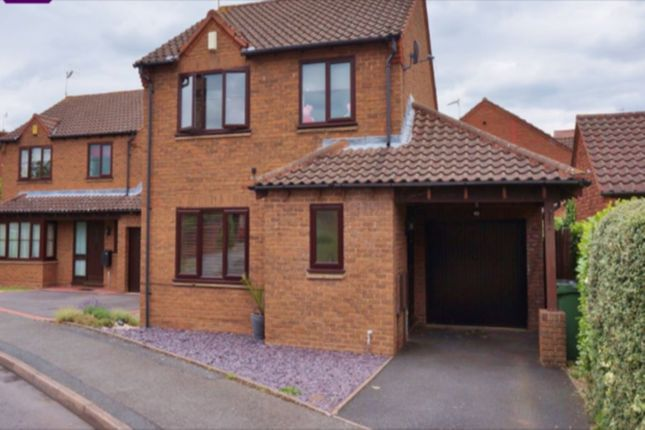 Thumbnail Detached house to rent in Slade Avenue, Lyppard Hanford, Worcester