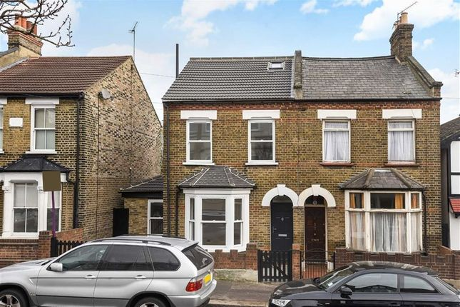 Thumbnail Semi-detached house for sale in Victoria Road, South Woodford, London