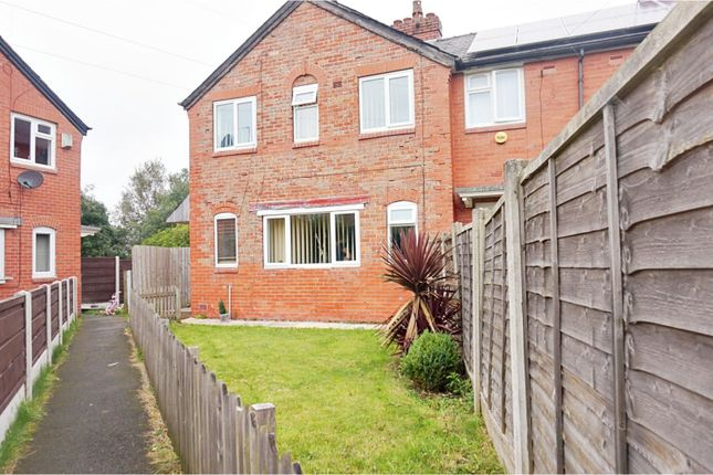End terrace house in  Skipton Avenue  Manchester  Manchester