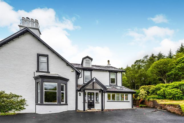 Thumbnail Detached house for sale in Whistlefield Road, Garelochhead, Helensburgh