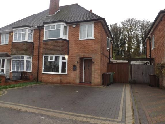 Thumbnail Semi-detached house for sale in Knightsbridge Road, Solihull, West Midlands