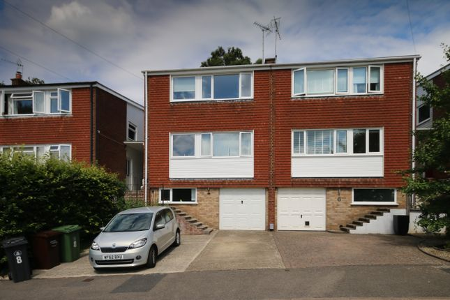 Thumbnail Semi-detached house for sale in Connop Way, Frimley, Camberley