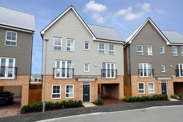 "Thumbnail Detached house for sale in ""Taunton"" at Countess Way, Broughton, Milton Keynes"