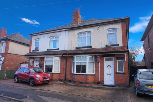 Thumbnail Semi-detached house for sale in Coronation Avenue, Alvaston