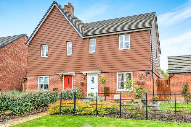 Thumbnail Semi-detached house for sale in Wellington Avenue, Meon Vale, Stratford-Upon-Avon