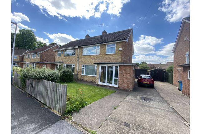 Thumbnail Semi-detached house to rent in St. Davids Close, Cottingham