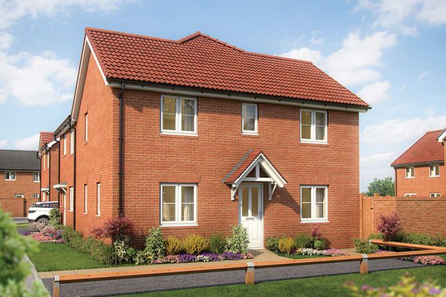 """Thumbnail Semi-detached house for sale in """"The Mountford"""" at Rudloe Drive Kingsway, Quedgeley, Gloucester"""