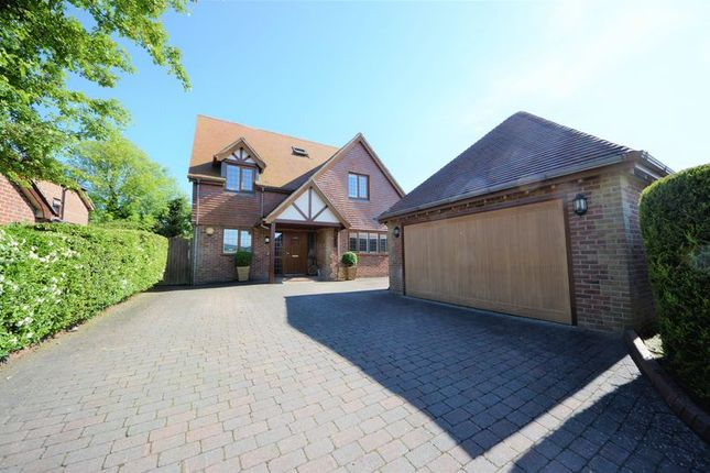 Thumbnail Detached house for sale in White Dirt Lane, Clanfield, Waterlooville