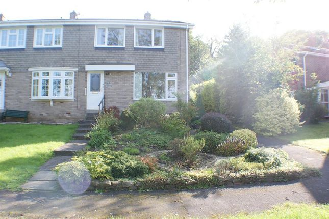 Thumbnail End terrace house for sale in Deanery View, Lanchester, Durham