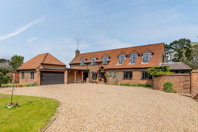 Thumbnail Detached house for sale in Twyford Road, Waltham St. Lawrence, Reading, Berkshire RG10.