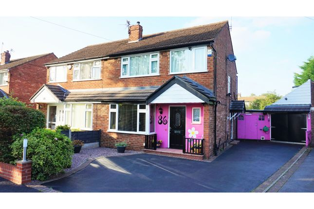 Thumbnail Semi-detached house for sale in Earle Road, Bramhall, Stockport