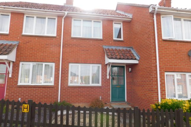 Thumbnail Terraced house to rent in Bury Street, Stowmarket
