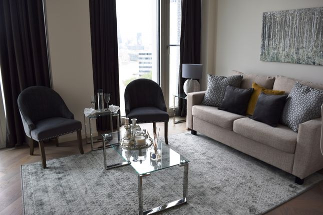 Thumbnail Flat to rent in Southbank Tower, London