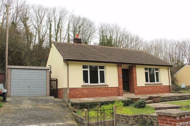 2 bed detached bungalow for sale in Coombs Road, Milford Haven SA73